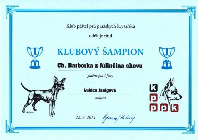 Klubový šampión KPPPK /CZ/
