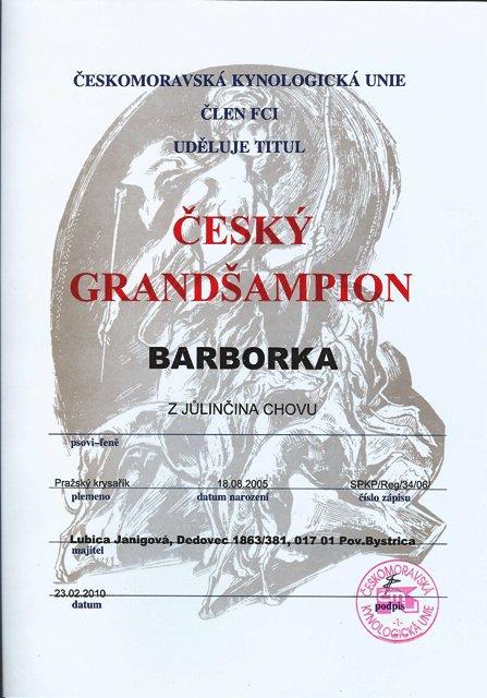 Český grandšampión